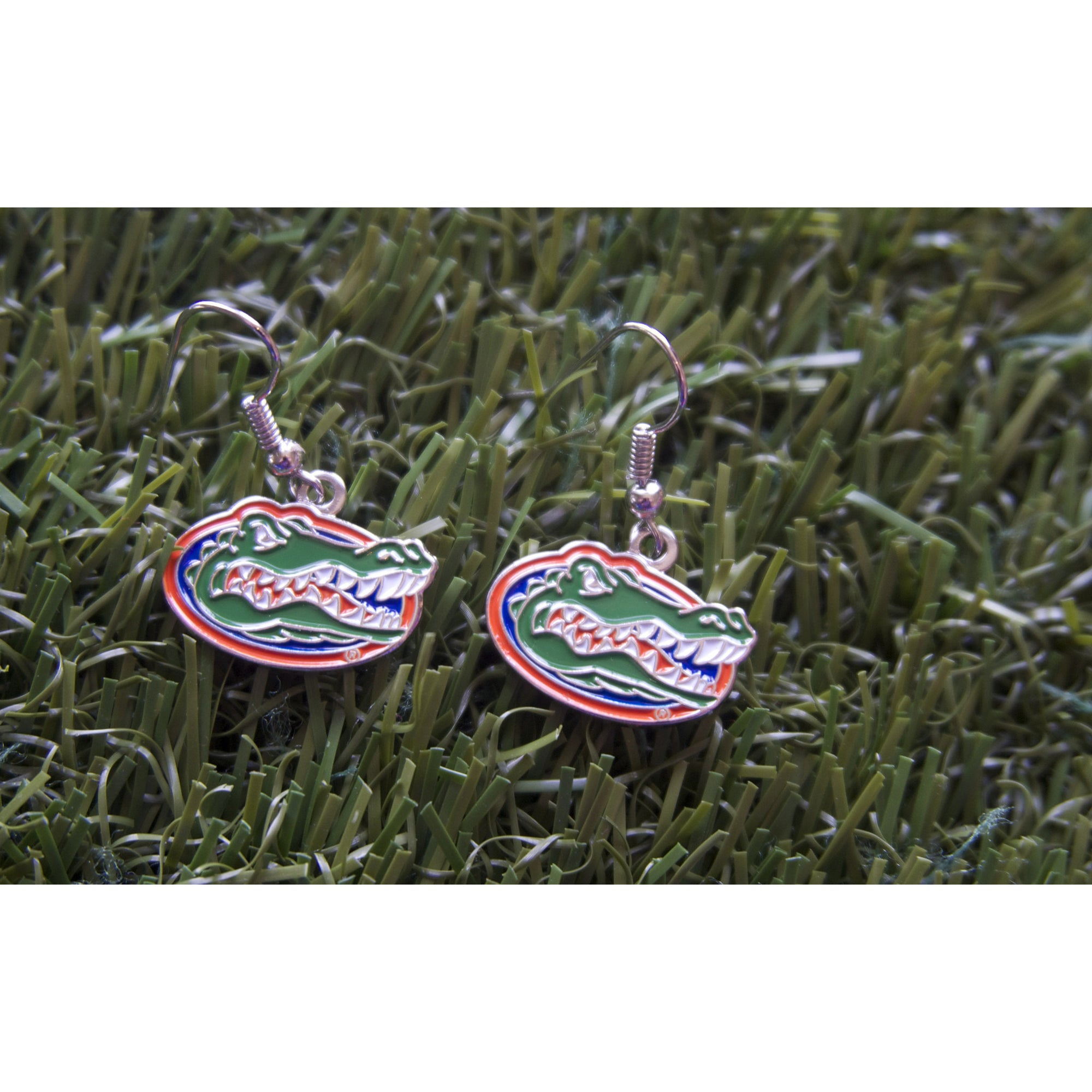 Florida Gators Dangle Earrings
