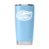 Gator Nation Tumbler - Seaside Blue Powder Coated