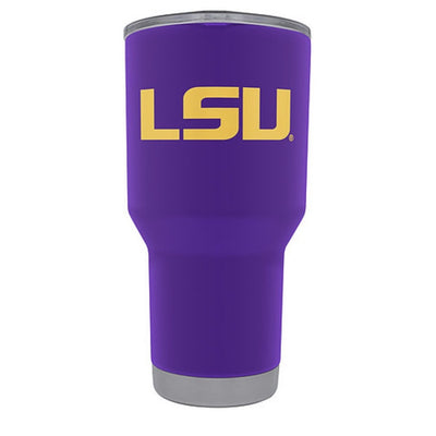 Lsu Lucky Tigers Tumbler Powder Coated 365 Gameday