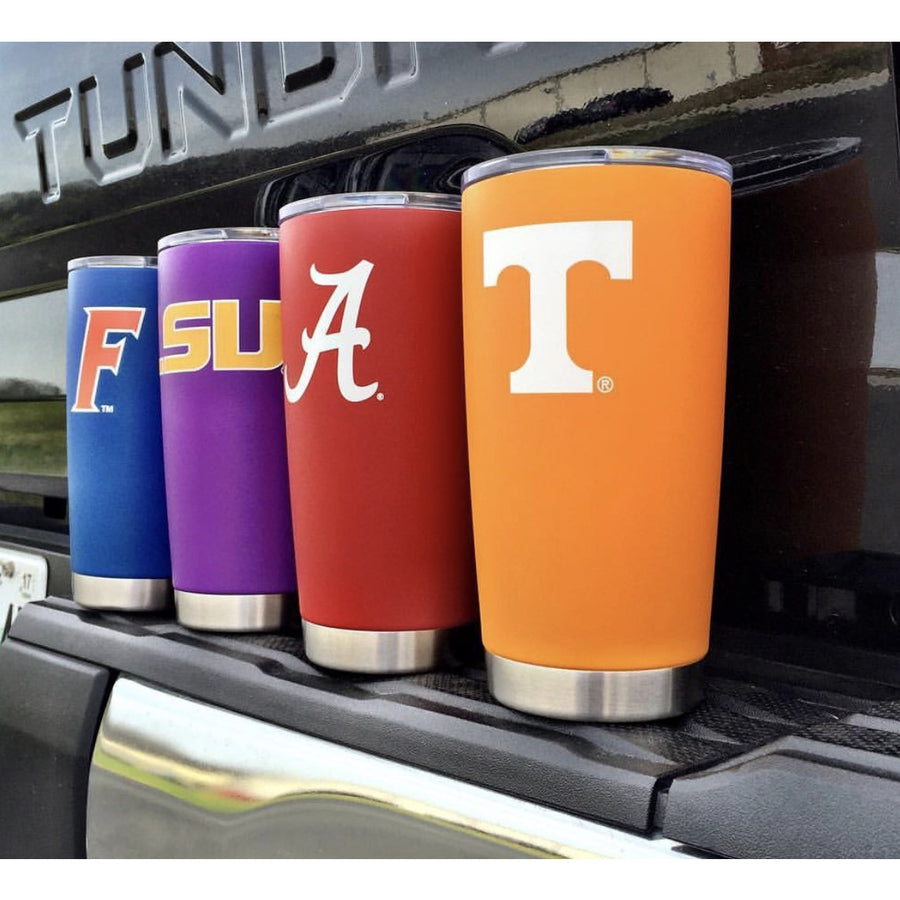 "LSU ""Lucky"" Tigers Tumbler - Powder Coated"
