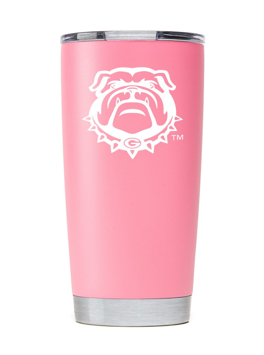Georgia Summer Pink Tumbler - Powder Coated