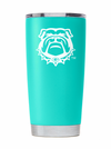 Georgia Spring Teal Tumbler - Powder Coated