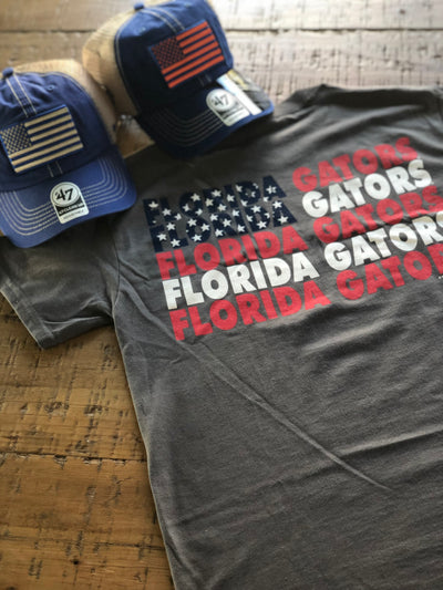 "Gator ""Patriot Flag"" Shirt"
