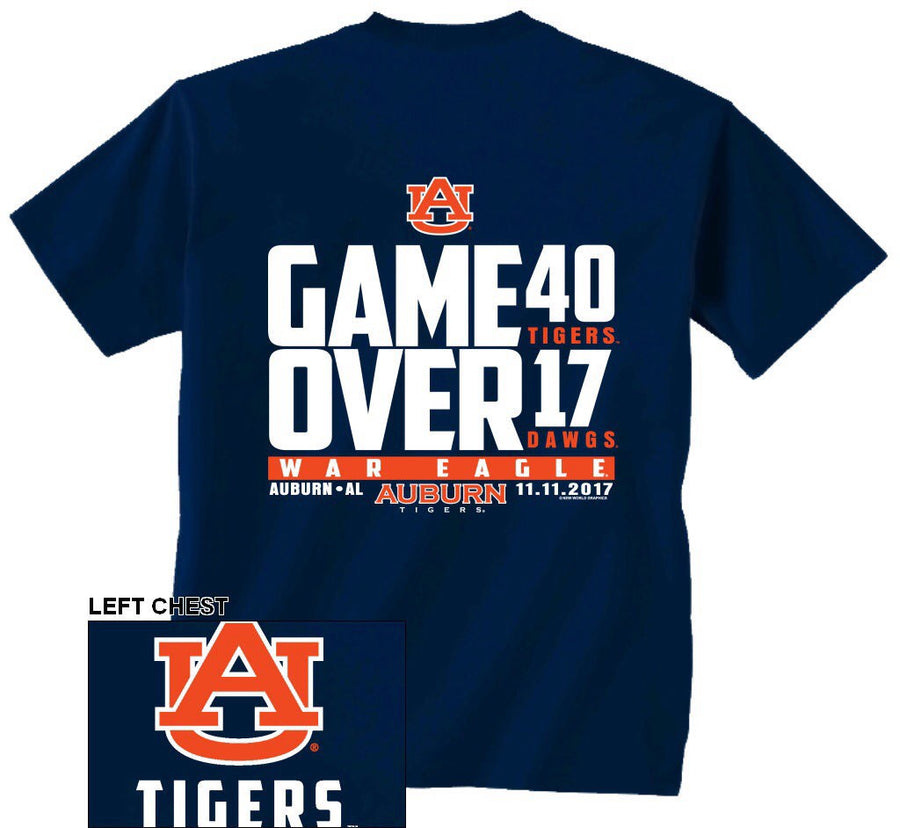 "Auburn ""Dominates The Dawgs"""