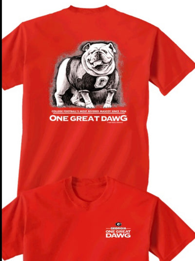"UGA ""Great Dawg"" Red"