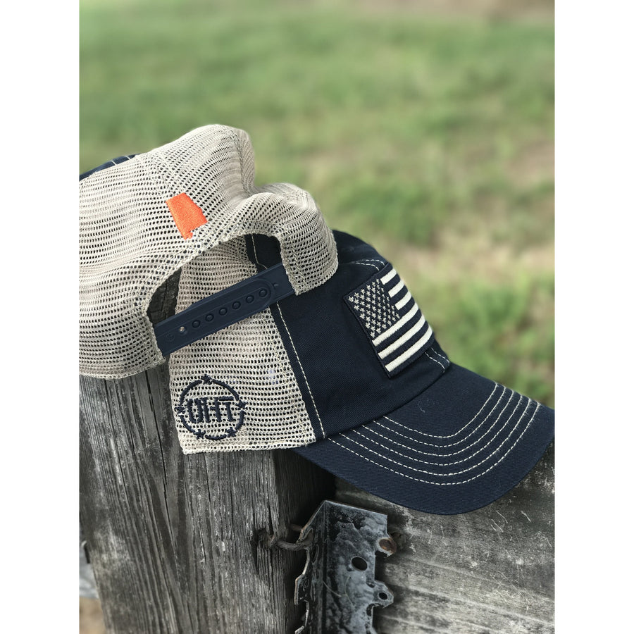 365Gameday Navy/Orange OHT Hat