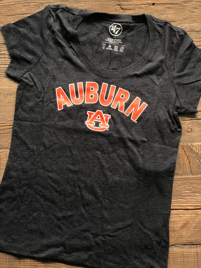 Auburn Ladies Club Scoop Tee