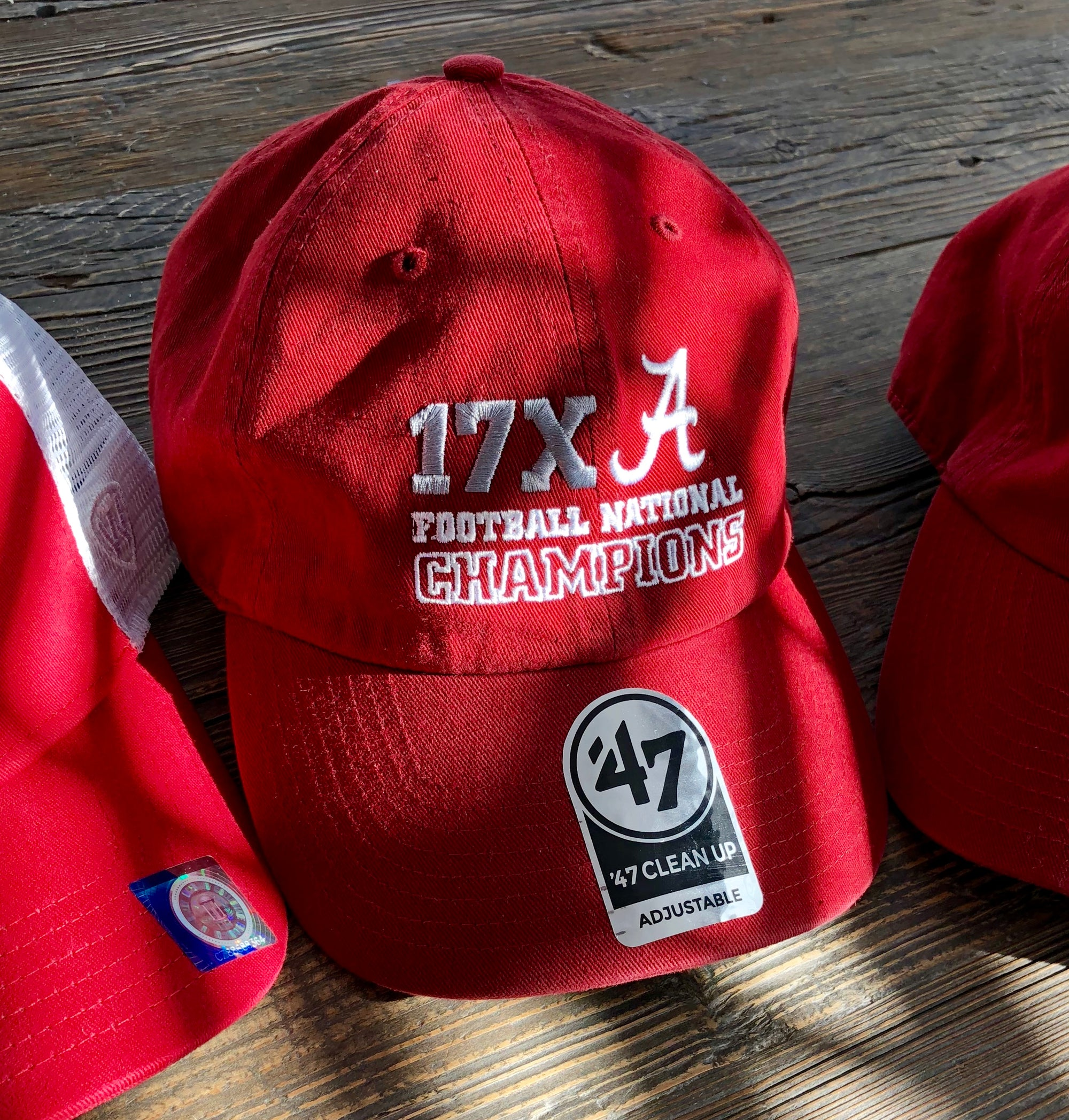 "47' Brand ""Official Alabama National Championship"" Hat"