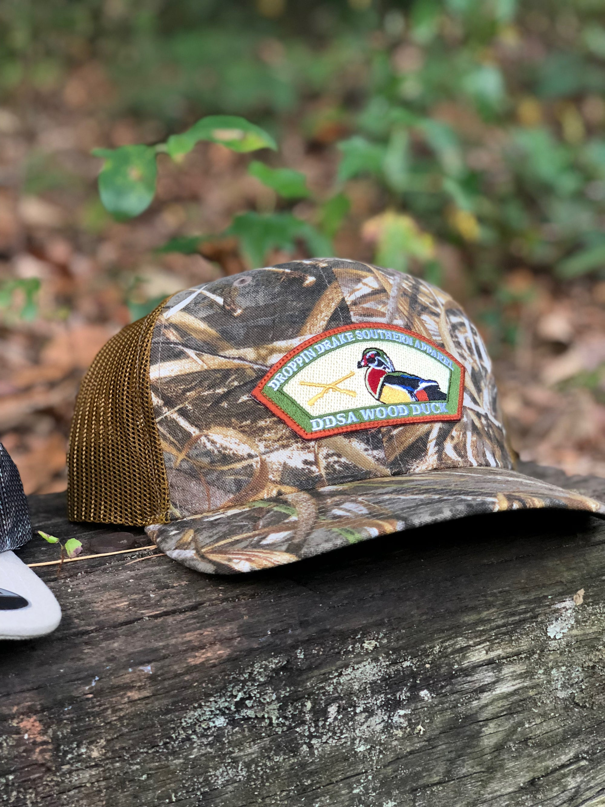"Droppin' Drake ""Max-5 Wood Duck"" Patch Hat"