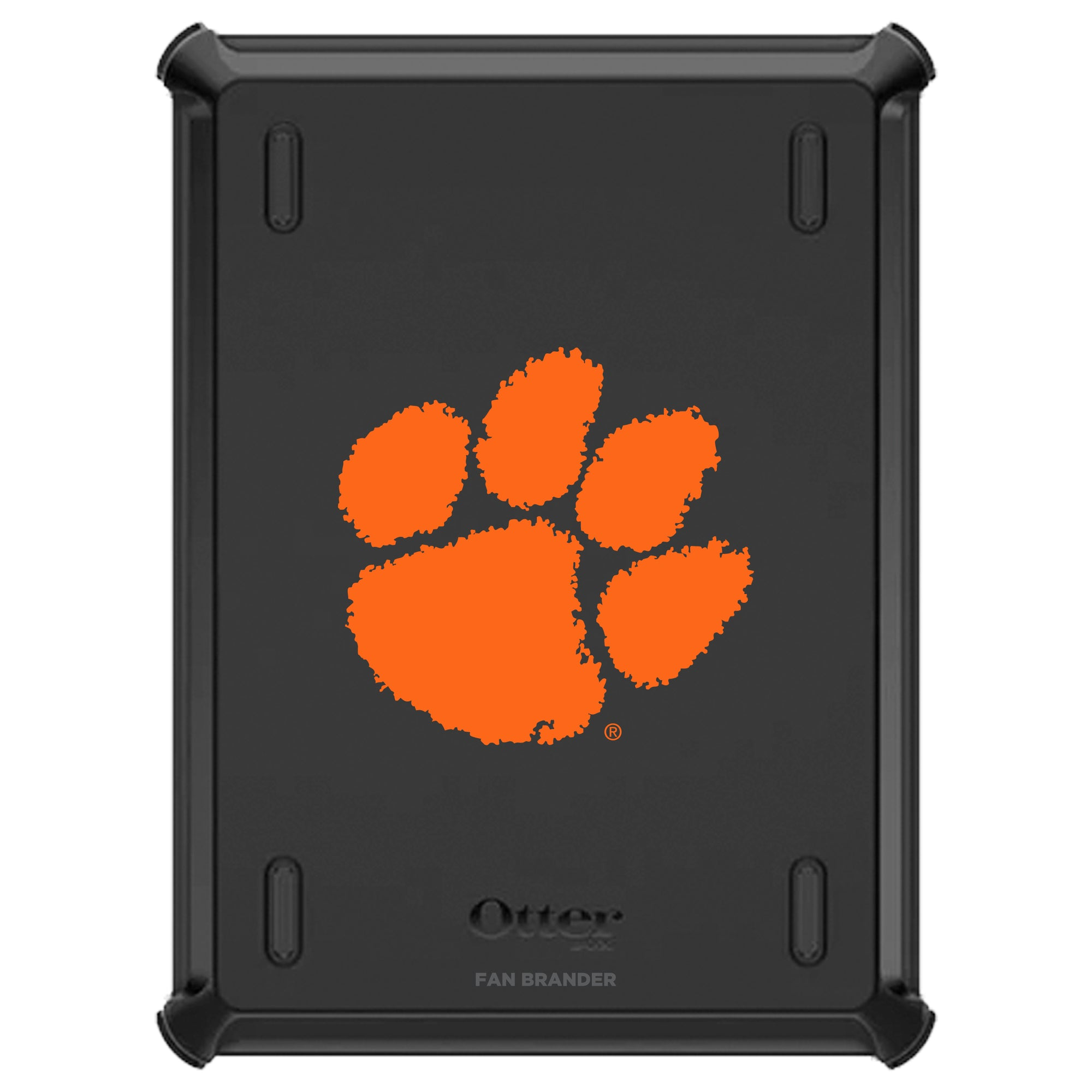 Clemson Tigers iPad (8th gen) and iPad (7th gen) Otterbox Defender Series Case