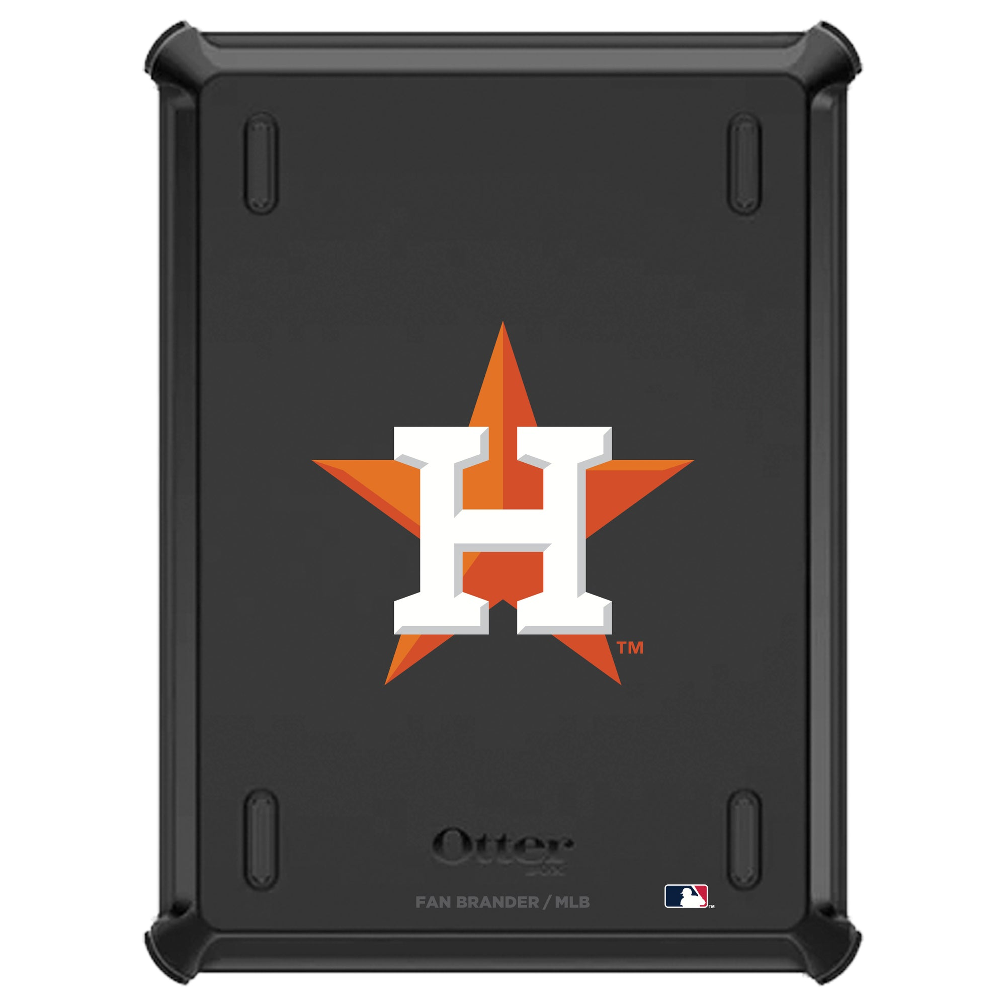 Houston Astros iPad (5th and 6th gen) Otterbox Defender Series Case