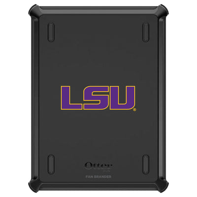 LSU Tigers iPad (8th gen) and iPad (7th gen) Otterbox Defender Series Case
