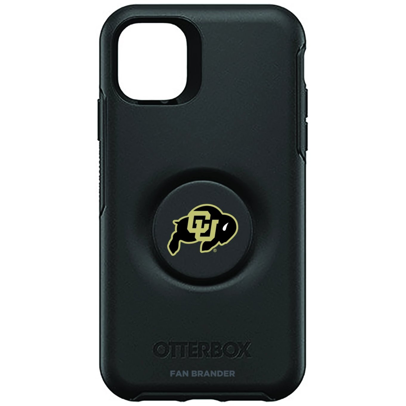 Colorado Buffaloes Otter + Pop Symmetry Case (for iPhone 11, Pro, Pro Max)