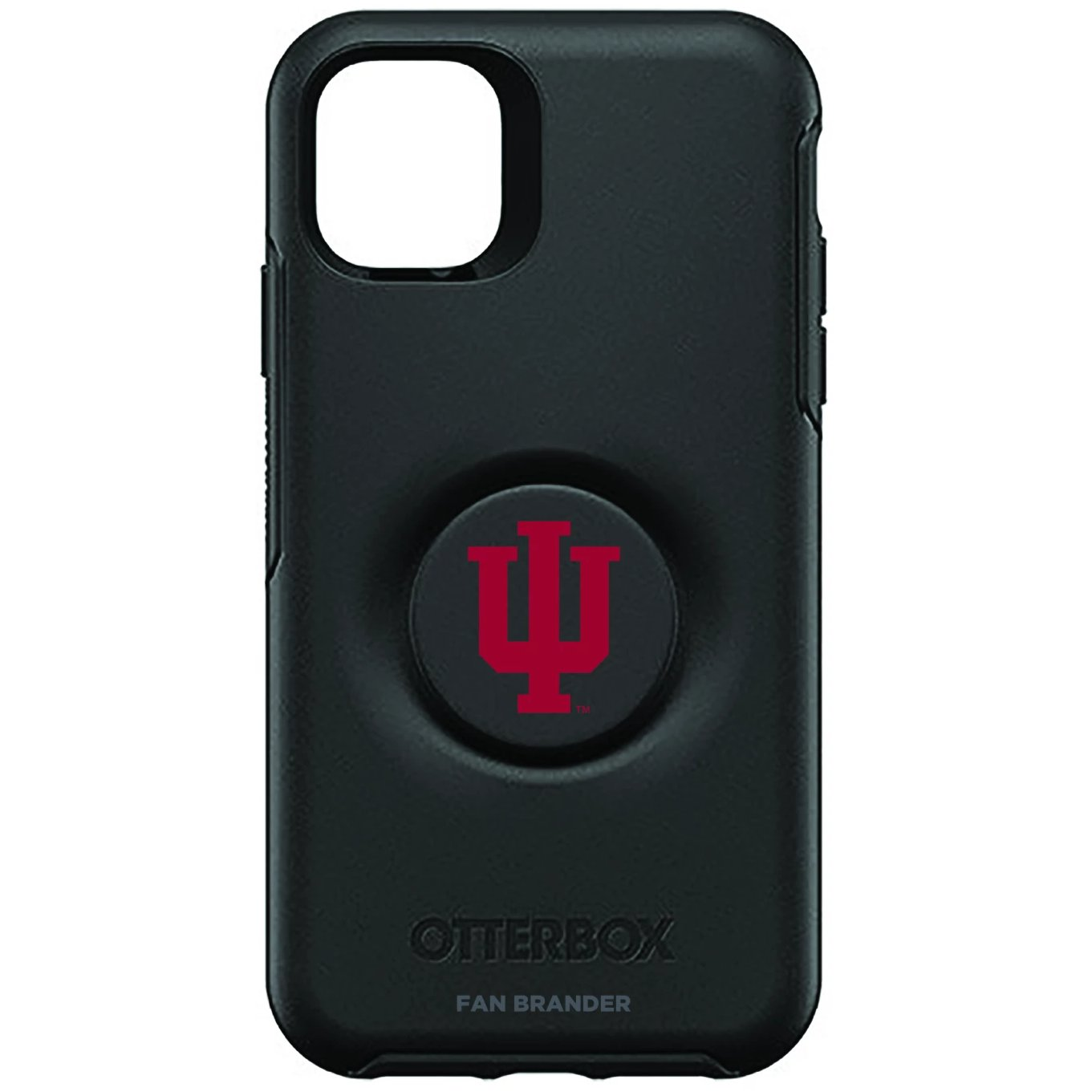 Indiana Hoosiers Otter + Pop Symmetry Case (for iPhone 11, Pro, Pro Max)