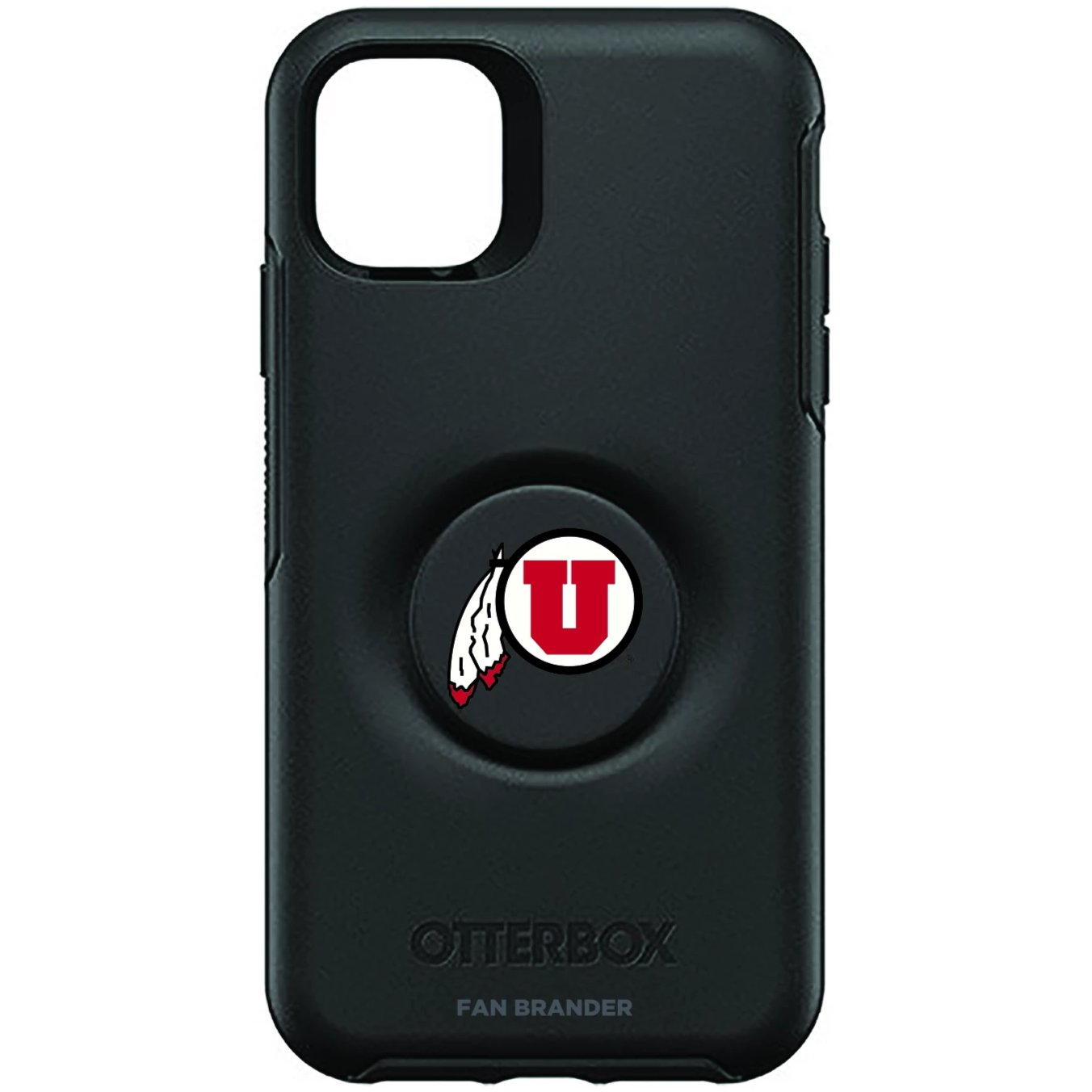Utah Utes Otter + Pop Symmetry Case (for iPhone 11, Pro, Pro Max)