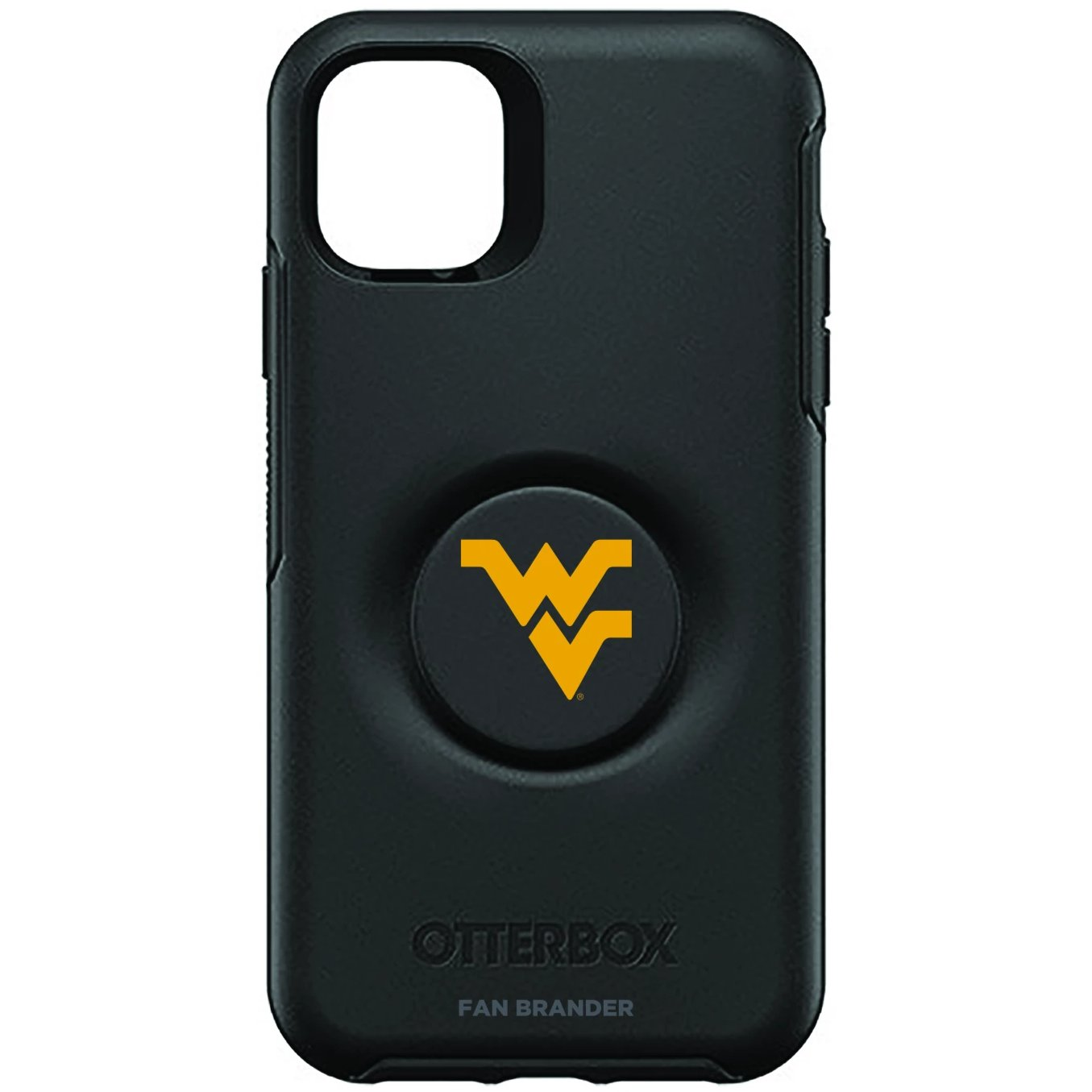 West Virginia Mountaineers Otter + Pop Symmetry Case (for iPhone 11, Pro, Pro Max)