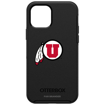 Utah Utes Otterbox iPhone 12 and iPhone 12 Pro Symmetry Case