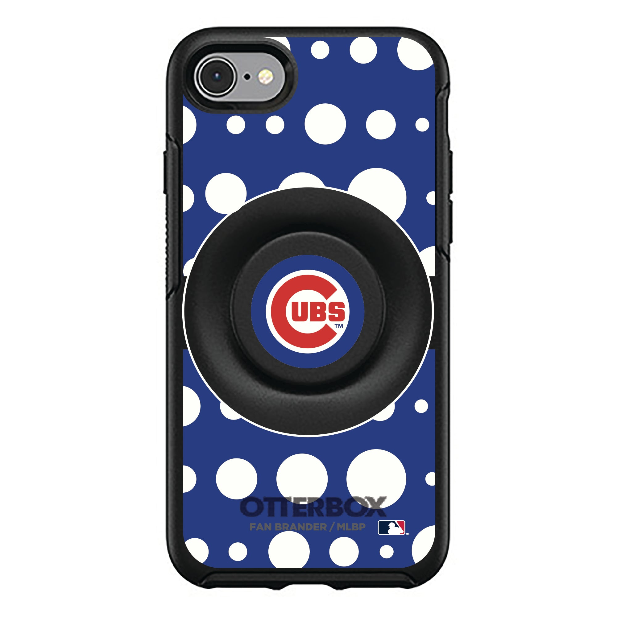 Chicago Cubs Otter + Pop Symmetry Case - Polka Dots