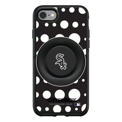 Chicago White Sox Otter + Pop Symmetry Case - Polka Dots