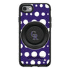 Colorado Rockies Otter + Pop Symmetry Case - Polka Dots