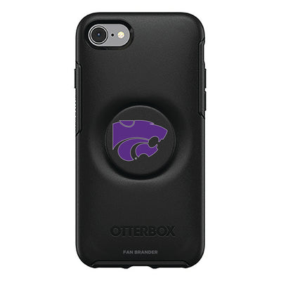 Kansas State Wildcats Otter + Pop Symmetry Case
