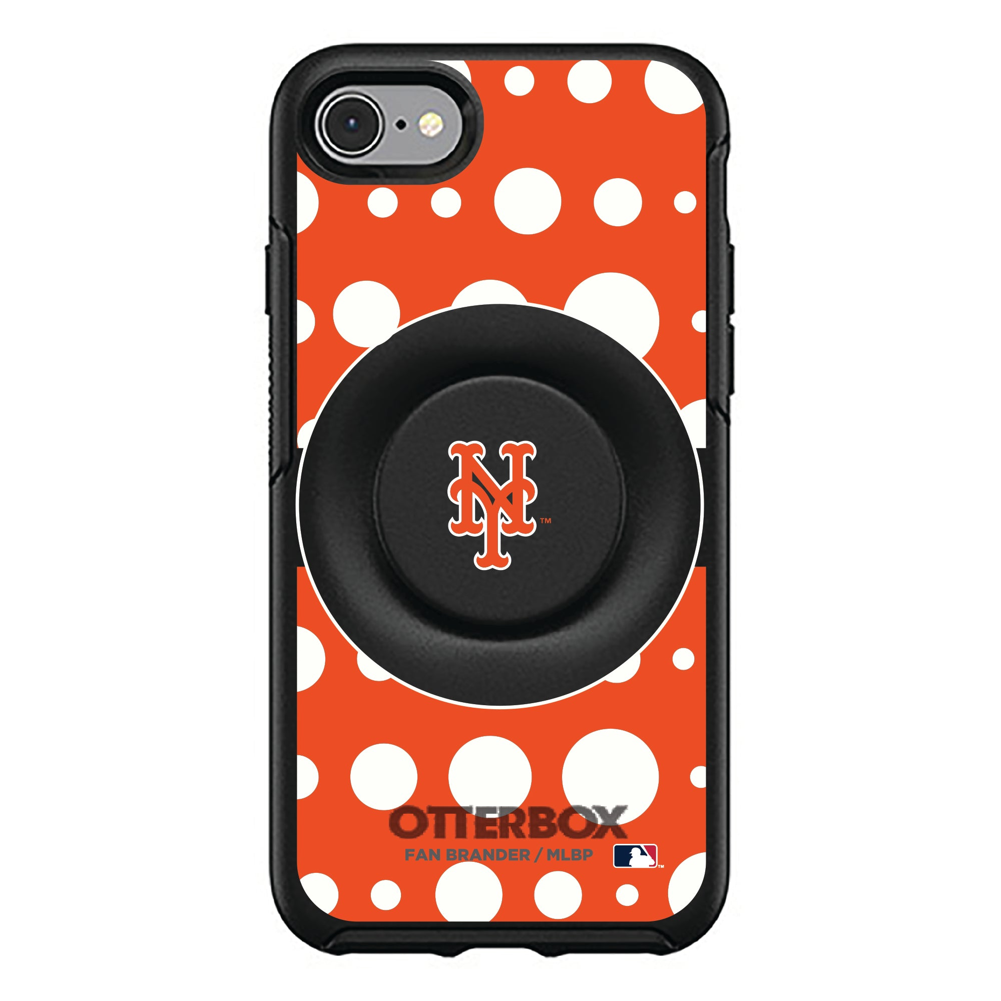 New York Mets Otter + Pop Symmetry Case - Polka Dots