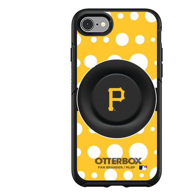 Pittsburgh Pirates Otter + Pop Symmetry Case - Polka Dots