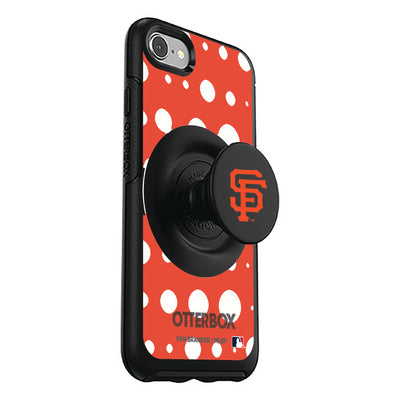 San Francisco Giants Otter + Pop Symmetry Case - Polka Dots