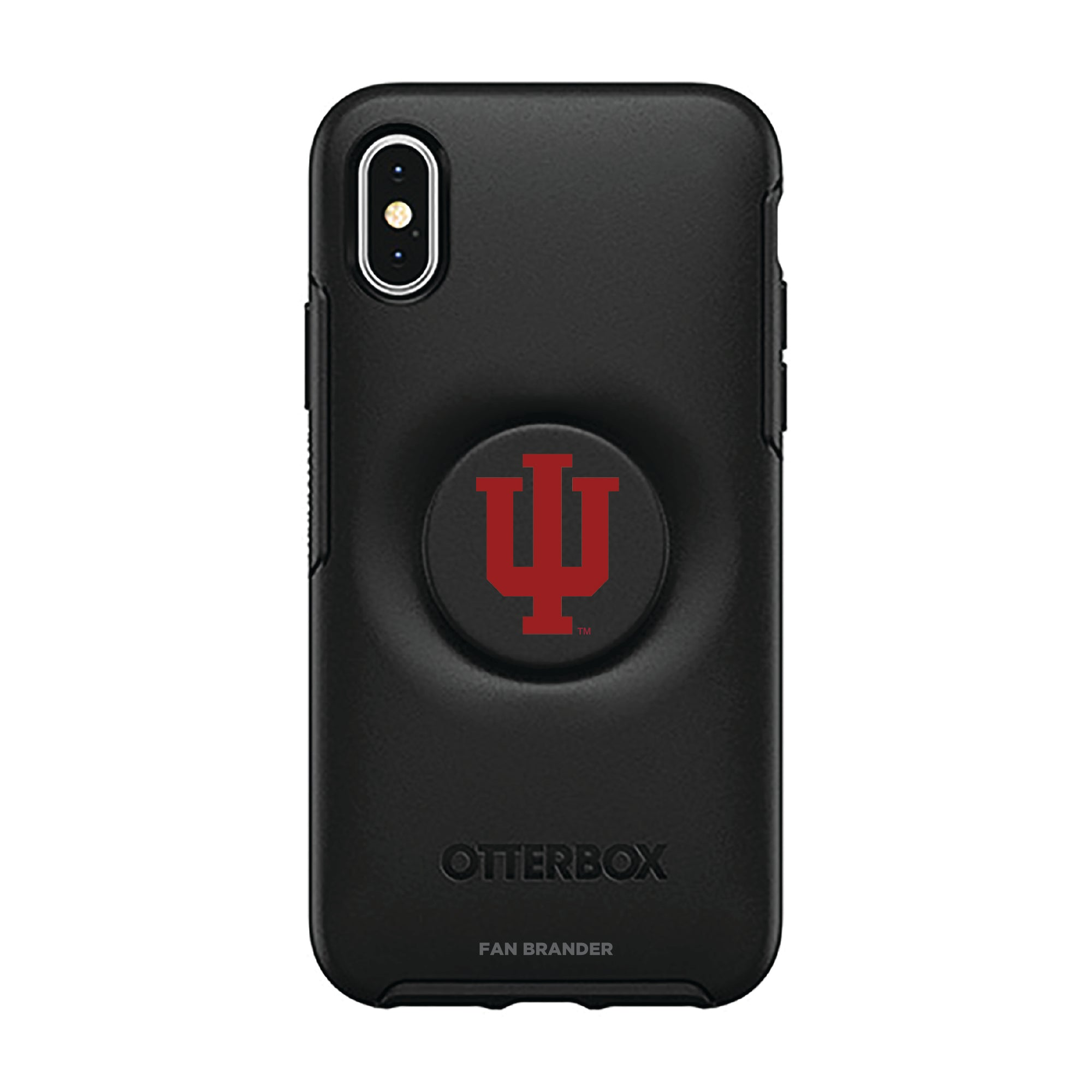 Indiana Hoosiers Otter + Pop Symmetry Case