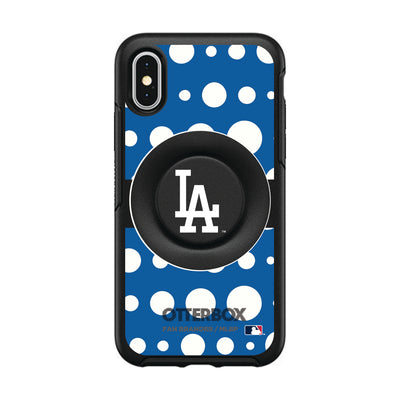 Los Angeles Angels Otter + Pop Symmetry Case - Polka Dots