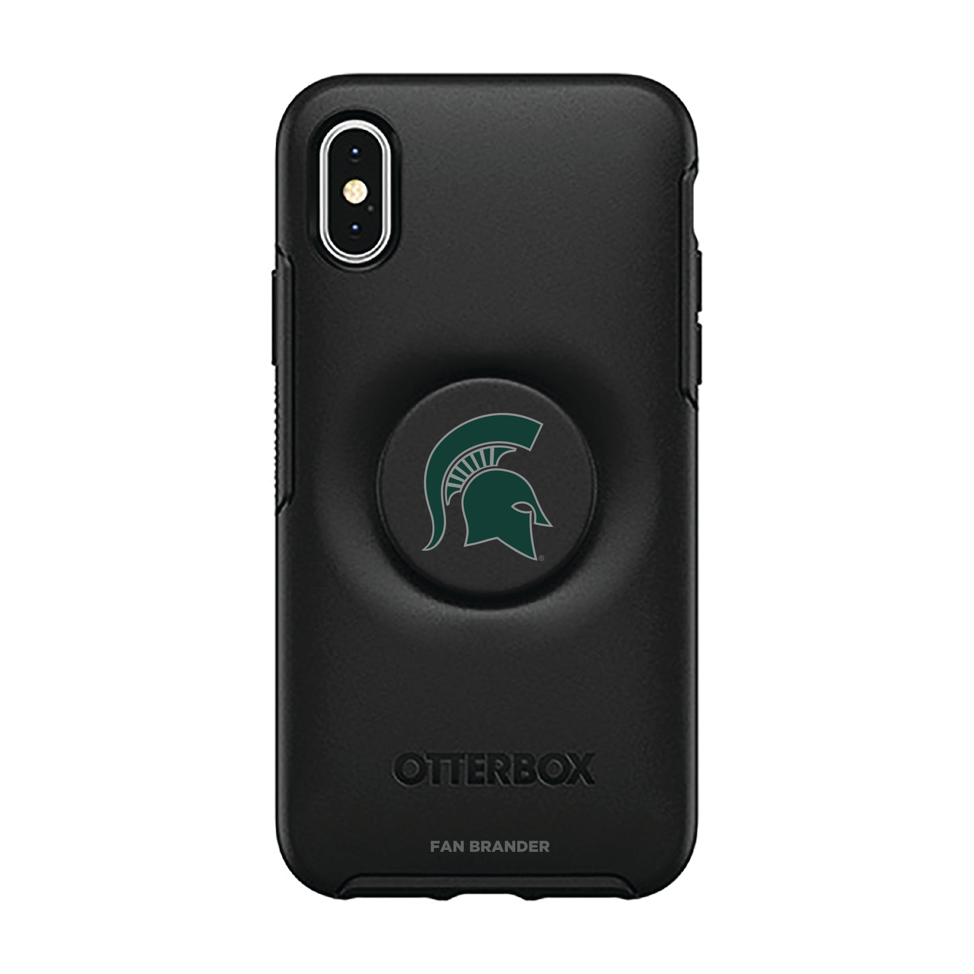 Michigan State Spartans Otter + Pop Symmetry Case