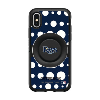 Tampa Bay Rays Otter + Pop Symmetry Case - Polka Dots
