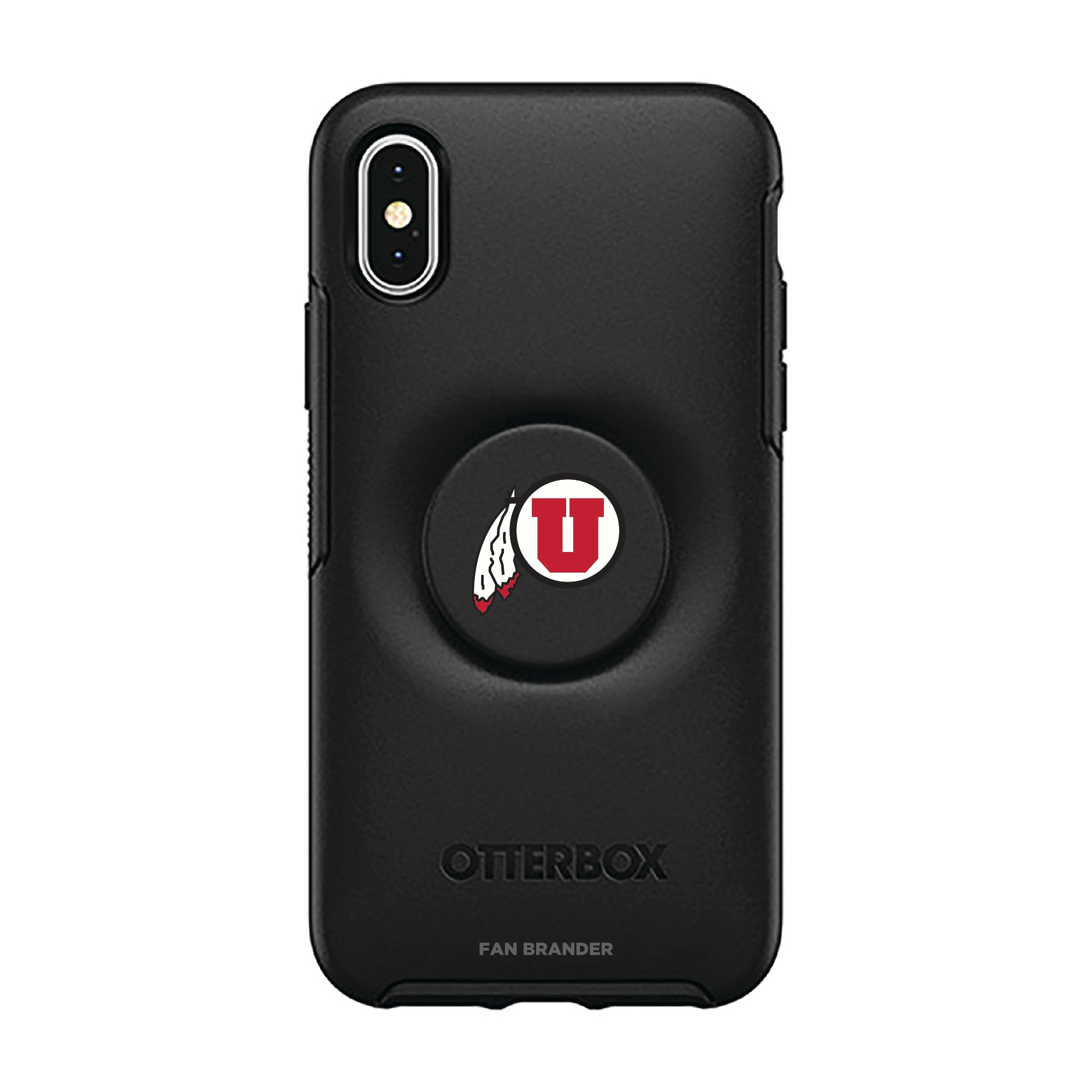 Utah Utes Otter + Pop Symmetry Case