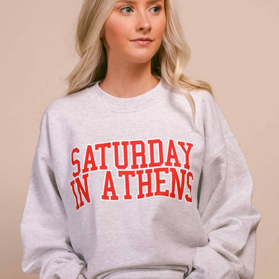 Saturday In Athens Sweatshirt (Ships Dec 7)