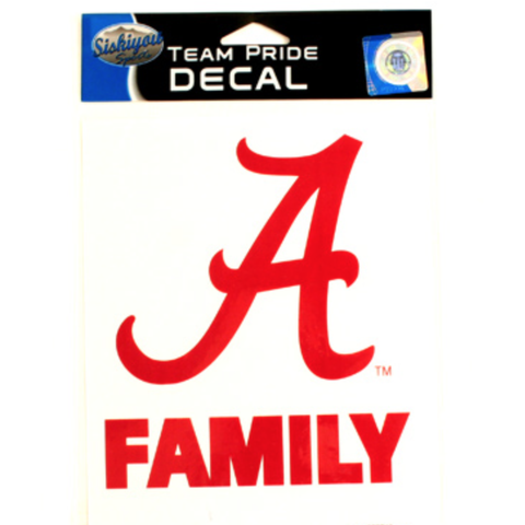 "Alabama ""Family"" Decal *"