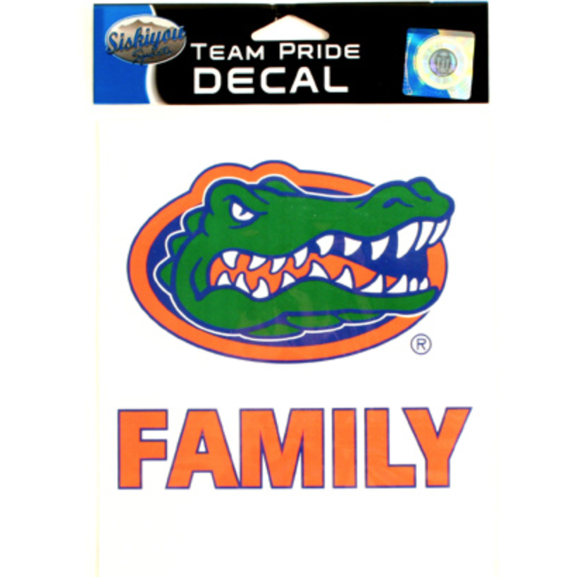 "Florida Gator ""Family"" Vehicle Decal"