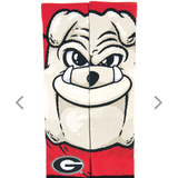"UGA ""Hairy Dawg"" socks"