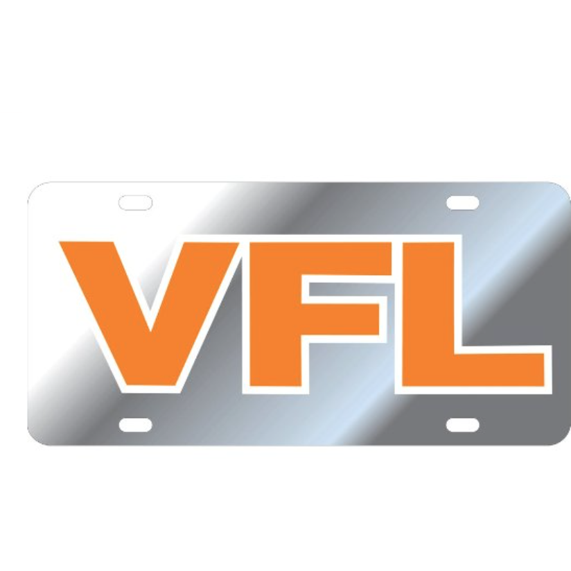 "Tennessee ""VFL"" License Plate"