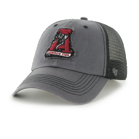 "Alabama ""Classic A"" Fitted Trucker"