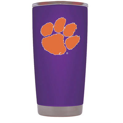 Clemson Nation Tumbler - Powder Coated 20 & 30