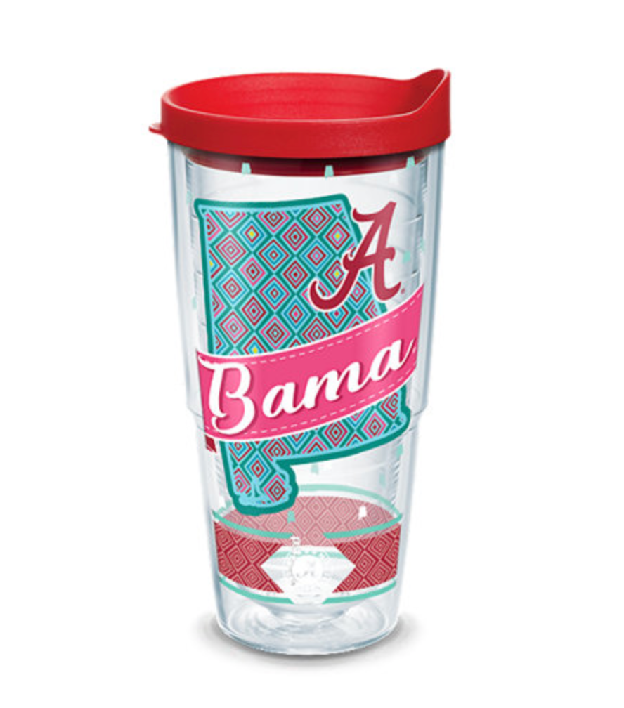 "Alabama ""Southern Sass"" 24oz"
