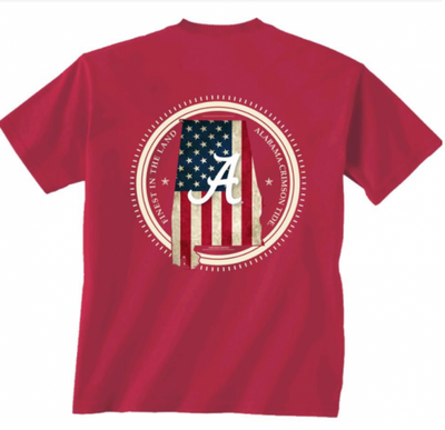 "Alabama ""USA"" T-Shirt"