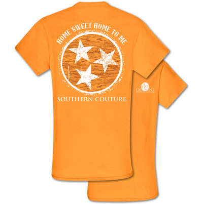 "Southern Couture ""Home Sweet Home"" Tri-Star T"
