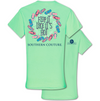 "Southern Couture ""Flop It Like It's Hot"" Ladies T - Mint"