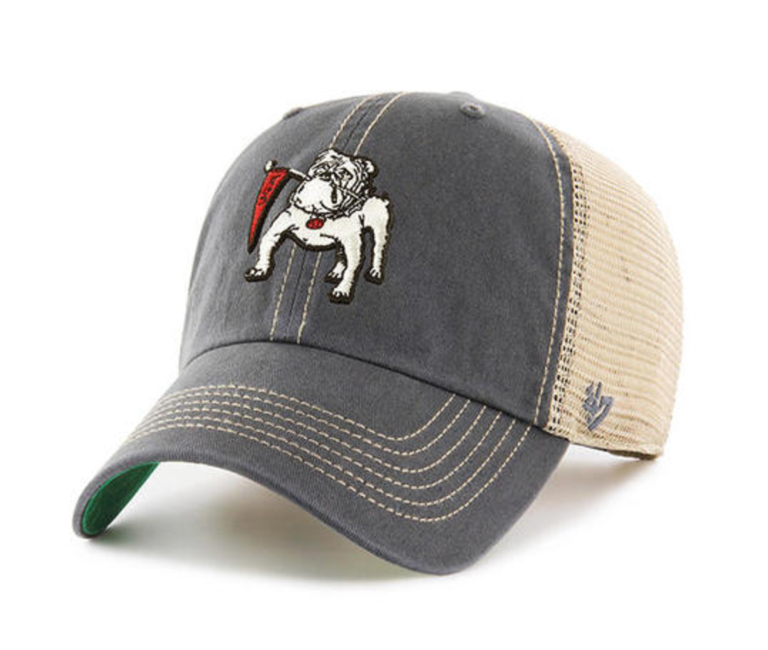 "UGA ""Vintage Dawg Trucker"" Charcoal Hat"