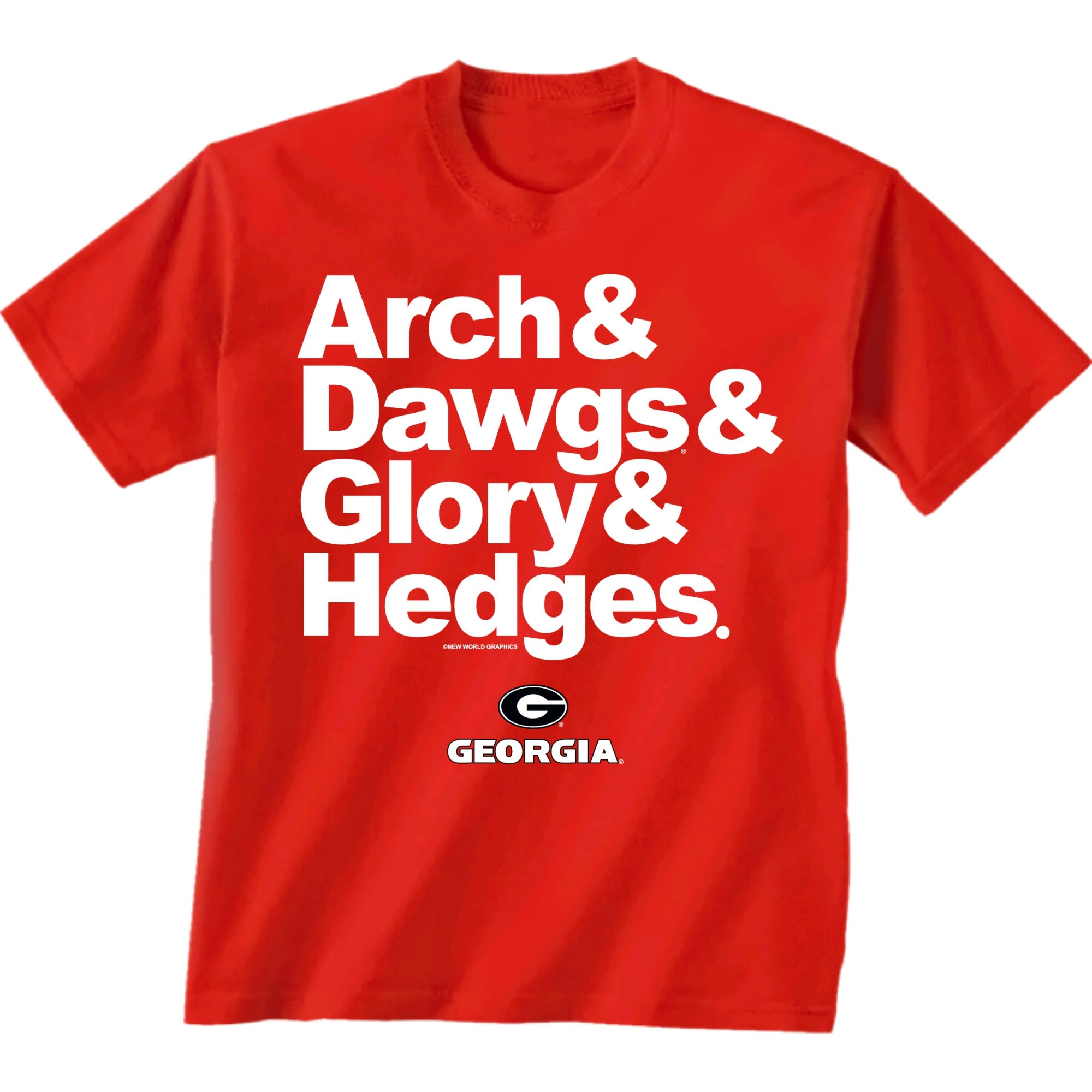 "UGA ""Arch and Dawgs"" Tee"