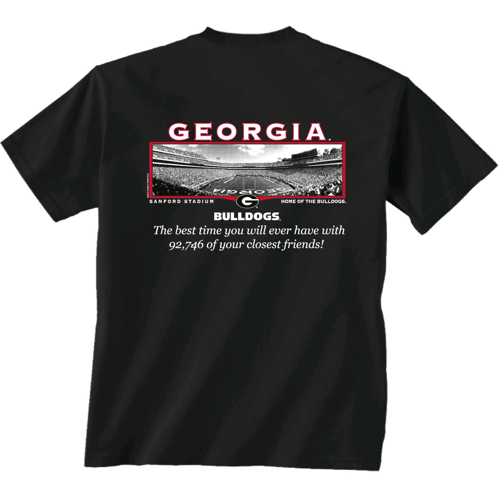 "UGA ""Sanford Best Friends"" Tee"