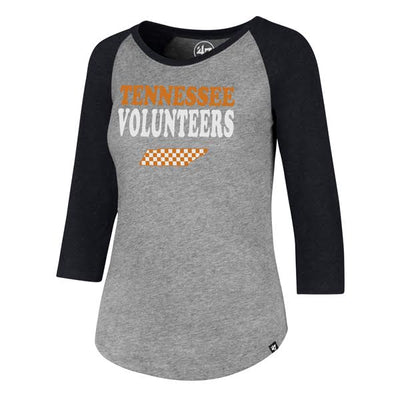 Tennessee Vols Ladies Raglan Tee