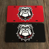 "UGA ""Nike Dawg"" License Plate"
