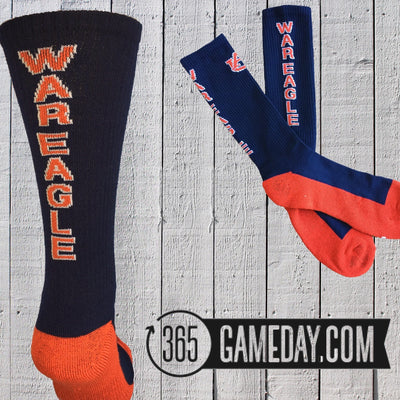 "Auburn ""Gameday"" Sock"